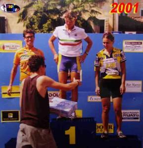 Troi Trek 2001: 1ª P. Guidolin, 2ª E. Bressan, 3ª M. Dal Pos