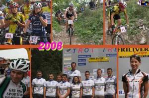 Troi Trek 2008: 1° A. Fontana, 2° D. Bevilacqua, 3° D. Parfimovich