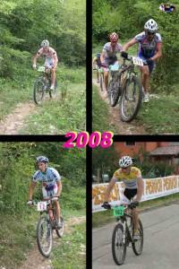 Troi Trek 2008: Visinelli, Braidot, Fontana e Ravaioli