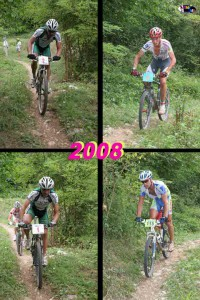 Troi Trek 2008: tratto in single track